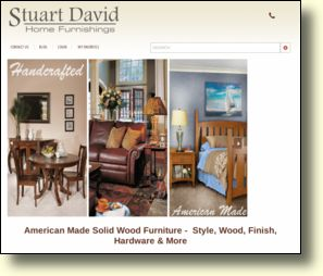 WebSite: Eco Friendly Furniture - Stuart David Home Furnishings