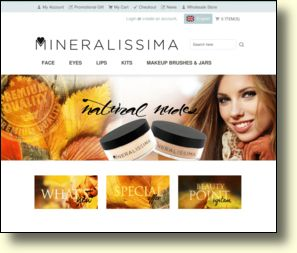 WebSite: Mineralissima mineral makeup